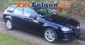 Audi A4 B8 Avant + DBV Mauritius 17 Zoll Alufelgen in silber