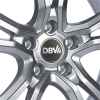DBV Andorra Felgen shadow silber in 16, 17, 18 und 19 Zoll
