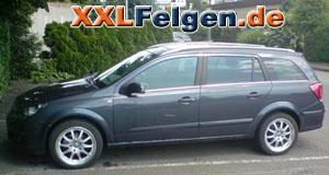 Opel Astra H + DBV Australia 17 Zoll Alufelgen