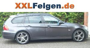 BMW 3er E91 + DBV Venezia 18 Zoll Felgen