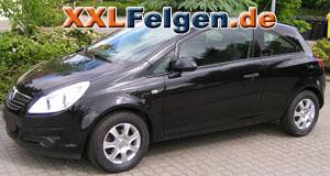 Opel Corsa D + DBV Lappland 14 Zoll Felgen