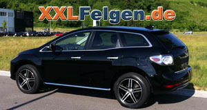 Mazda CX-7 + DBV Mauritius black 19