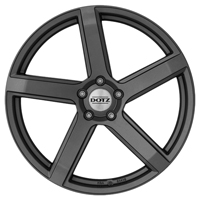 DOTZ CP5 Alufelgen in graphite matt