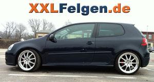 19 Zoll DBV Felgen für VW Golf V