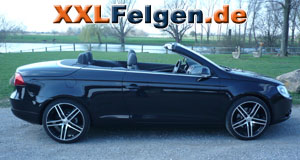 VW Eos + 19 Zoll DBV S-Mauritius Felgen