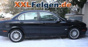 Jaguar X-Type + DBV Florida 17 Zoll Felgen