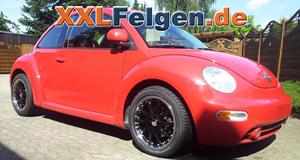 VW Beetle + DBV S-Australia 17 Zoll Leichtmetallfelgen