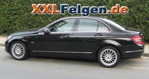 Mercedes E-Klasse + DBV Florida 17 Zoll