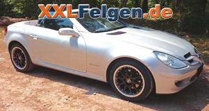 Die DBV Australia Tiefbettfelge für den Mercedes Benz SLK