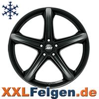 Schwarze Räder für schwere Jungs - die AEZ  Yacht SUV Aluräder