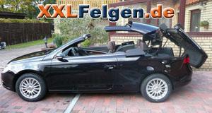 VW Eos + DBV Florida 16 Zoll Alufelgen