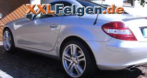 Mercedes SLK und DBV Mauritius 18 Zoll Alufelgen