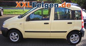Fiat Panda + DBV Tahiti 13 Zoll Winterfelgen