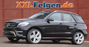Mercedes Benz M-Klasse + Hofele Reverso II 22 Zoll Leichtmetallfelgen