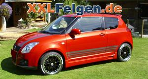 17 Zoll Alufelgen DBV Australia für den Suzuki Swift