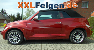 Chrysler PT Cruiser + DBV Arizona 17 Zoll Räder