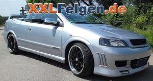 Opel Astra-G + DBV S-Australia 18 Zoll Alu-Felgen