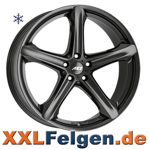 AEZ Yacht SUV Felgen Schwarz glänzend