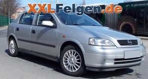 Opel Astra G CC + DBV Florida 15 Zoll Alufelgen