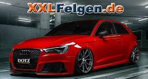 Audi A3 8V mit DOTZ Misano grey Alufelgen