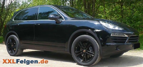porsche cayenne mit dbv mauritius black 20 zoll felgen. Black Bedroom Furniture Sets. Home Design Ideas