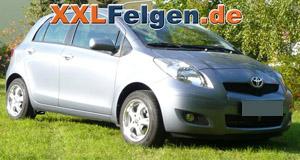 Toyota Yaris und DBV Tahiti 15 Zoll Felgen