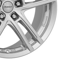 DEZENT TZ Leichtmetallräder metallic silber