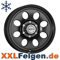 Dotz Rafting dark Felgen in schwarz matt