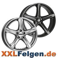 AEZ Leichtmetallräder Yacht black & silver