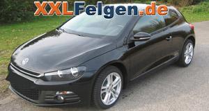 VW Scirocco + DBV Mauritius 17 Zoll Felgen
