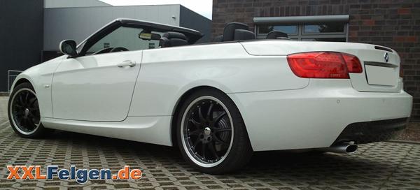 BMW 3er E93 + DBV Australia 19 Zoll Leichtmetallfelgen
