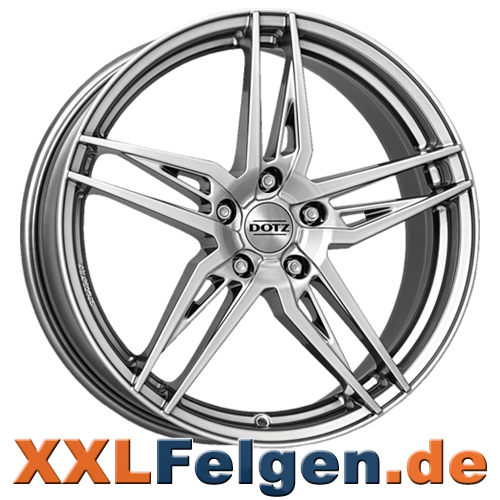 DOTZ Interlagos SHINE Felgen in silber