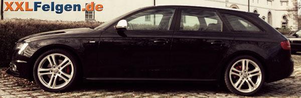 DBV Mauritius silber lackierte Winterfelgen für den Audi A4 B8