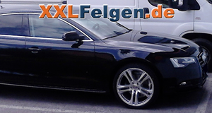Audi A5 Sportback mit Tracmax Sommerreifen