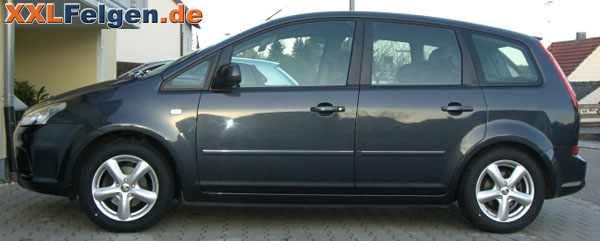 ford c max mit dbv samoa 16 zoll felge. Black Bedroom Furniture Sets. Home Design Ideas
