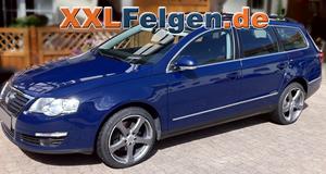 VW Passat 3C + DBV Venezia 18 Zoll Felgen