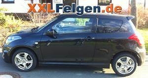 Suzuki Swift + DBV Malaya 16 Zoll Alufelge