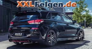 Hyundai i30N PDE DOTZ mit Interlagos dark 19 Zoll Felgen