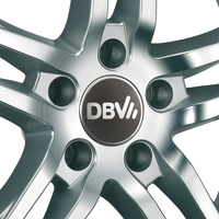 DBV Mauritius Leichtmetallräder in silver polished