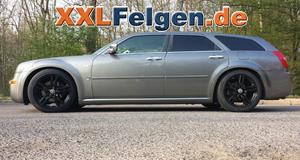 Chrysler 300C LX + DBV Mauritius full black 20 Zoll Alufelgen