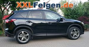 Mazda CX-5 mit 19 Zoll DBV Torino 2 Alufelgen und SUV Sommerreifen