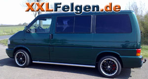 VW T4 + DBV S-Australia 17 Zoll Felgen