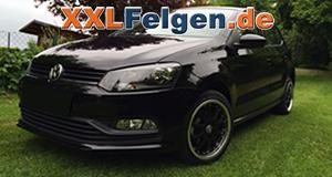 DBV Australia 16 Zoll Alufelgen und Kumho Reifen für den VW Polo 6R