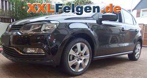 16 Zoll Alufelgen DBV Lappland für den VW Polo 6R