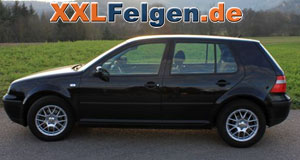 VW Golf IV und DBV Arizona 15 Zoll