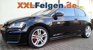 VW Golf VII GTI mit 18 Zoll DBV Mauritius Alufelgen