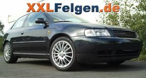 Audi A3 8L und DBV Florida 17 Zoll Felgen