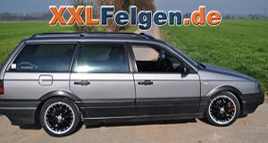 VW Passat Variant + DBV Australia black 16 Zoll Alufelge