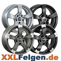 DBV Torino 2 Leichtmetallräder perfekt für den Audi