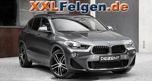 BMW 2er Active Tourer F45 mit DEZENT TZ DARK Felgen